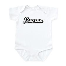 Black jersey: Boyce Infant Bodysuit