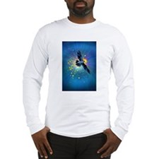 Illuminated Raven Long Sleeve T-Shirt