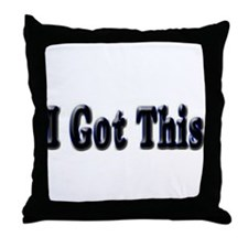 I got this. Throw Pillow