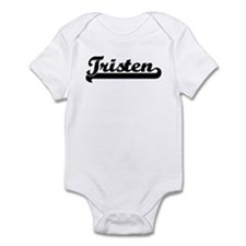 Black jersey: Tristen Infant Bodysuit