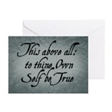 to-thy-own-self-be-true_13-5x18.jpg Greeting Cards