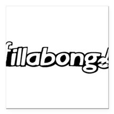 "Fillabong Square Car Magnet 3"" x 3"""
