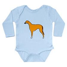 Azawakh Long Sleeve Infant Bodysuit