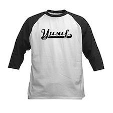 Black jersey: Yusuf Tee