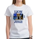 BIG LION OF JUDAHblue T-Shirt