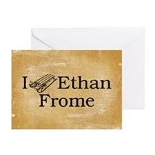 I (Sled) Ethan Frome Greeting Cards (Pk of 20)