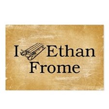 I (Sled) Ethan Frome Postcards (Package of 8)