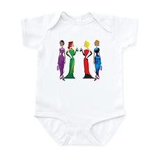 Ladies' Night Infant Bodysuit