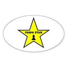 Pawn Star Oval Bumper Stickers