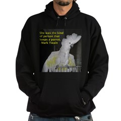 Umbrella Cockatoo - Ruth Hoodie (dark)