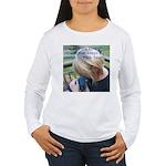 Hyacinth Macaw - Pam Women's Long Sleeve T-Shirt