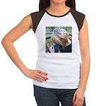 Hyacinth Macaw - Pam Women's Cap Sleeve T-Shirt
