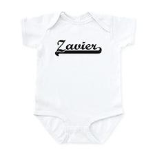 Black jersey: Zavier Infant Bodysuit