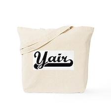 Black jersey: Yair Tote Bag