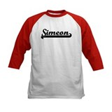 Black jersey: Simeon Tee
