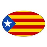 LEstelada Blava Catalan Independence Flag Decal