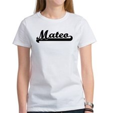 Black jersey: Mateo Tee