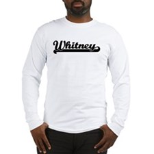 Black jersey: Whitney Long Sleeve T-Shirt