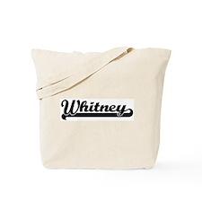 Black jersey: Whitney Tote Bag