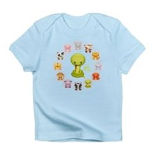 Chinese Year of the Snake 2013 Round Infant T-Shir