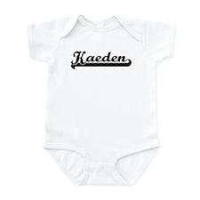 Black jersey: Kaeden Infant Bodysuit