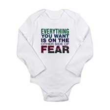 Other Side of Fear Long Sleeve Infant Bodysuit