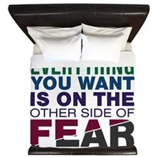 Other Side of Fear King Duvet