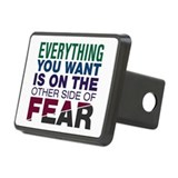 Other Side of Fear Rectangular Hitch Cover