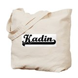 Black jersey: Kadin Tote Bag
