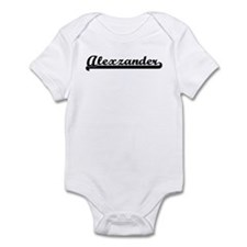 Black jersey: Alexzander Infant Bodysuit