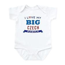 I Love My Big Czech Family Infant Bodysuit