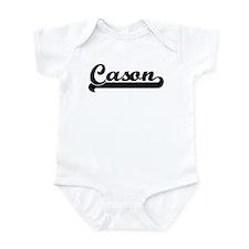 Black jersey: Cason Onesie