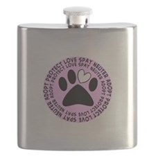 Spay neuter BIGGER PINK.PNG Flask