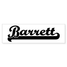 Black jersey: Barrett Bumper Bumper Sticker