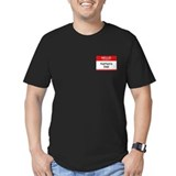 Kaitlyn's Dad Men's Fitted Dark T-Shirt