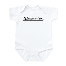 Black jersey: Alexandro Infant Bodysuit