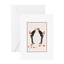 Cute Gay wedding Greeting Card