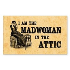 Madwoman In The Attic Decal
