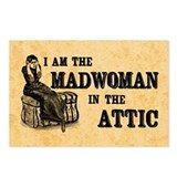 madwoman_attic_pc.jpg Postcards (Package of 8)