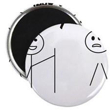 "Unique Funny 2.25"" Magnet (10 pack)"