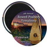 Bowed psaltery Magnet
