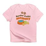 Border Collie Mom Infant T-Shirt