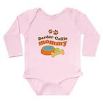 Border Collie Mom Long Sleeve Infant Bodysuit