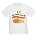Border Collie Mom Kids Light T-Shirt