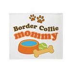 Border Collie Mom Stadium Blanket