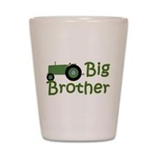 Big Brother Green Tractor Shot Glass
