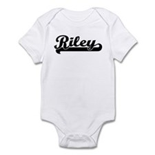 Black jersey: Riley Infant Bodysuit