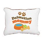 Dalmatian Mom Rectangular Canvas Pillow