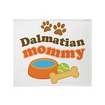Dalmatian Mom Stadium Blanket