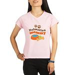 Dalmatian Mom Performance Dry T-Shirt